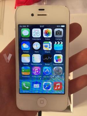 iPhone 4, 16 gb, blanco, libre