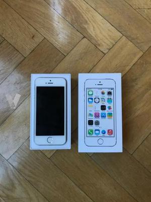 iPhone 5 s 16 GB libre blanco/plata