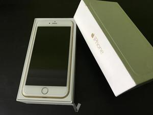iPhone 6 PLUS, 16GB LIBRE DORADO IMPECABLE.