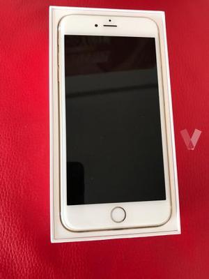 iPhone 6s Plus, Gold, 64GB, perfecto estado