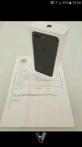 iPhone 7 32 gb nuevo sin estrenar i factura