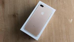 iPhone 7 plus 128gb Dorado a estrenar