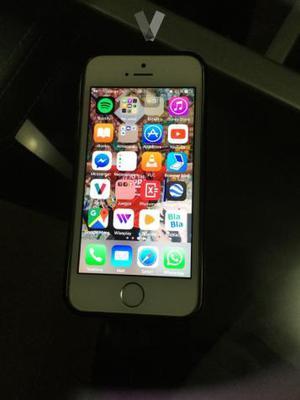 iphone 5S de 16 gb color plata