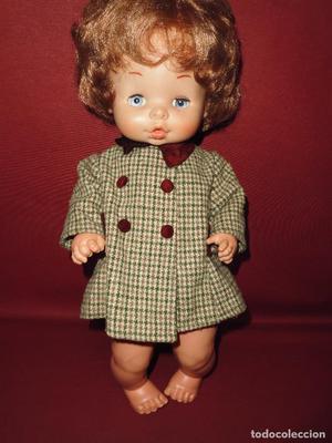 magnifica antigua muñeca de famosa