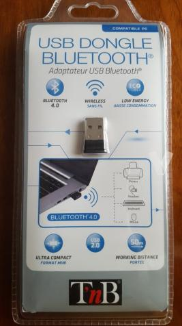 ADAPTADOR USB BLUETOOTH 4.0