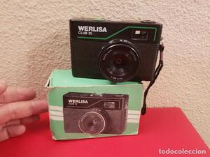 ANTIGUA CAMARA FOTOGRAFICA DE FOTOS MARCA WERLISA CLUB 35 EN