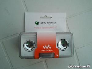 Altavoces portátiles MPS-60 de Sony Ericsson para telefonos