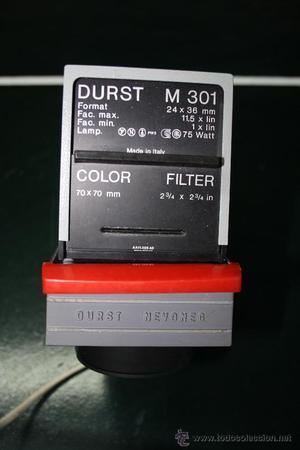 Ampliadora Durst M301 con óptica Ysaron Rodenstock F/