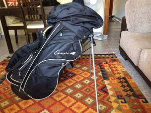 Bolsa de palos de golf + accesorios