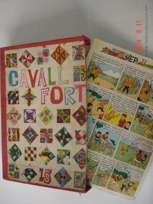 CAJA ARCHIVADOR Nº 1-16 REVISTA CAVALL FORT