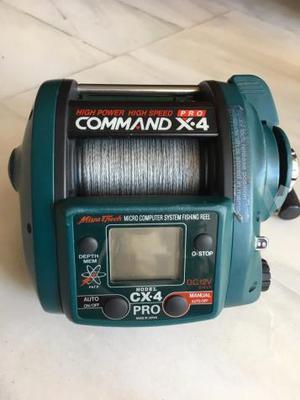 Carrete de pesca eléctrico COMMAND X4 PRO
