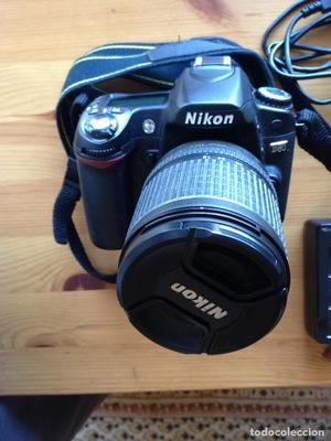Cámara digital Nikon D80