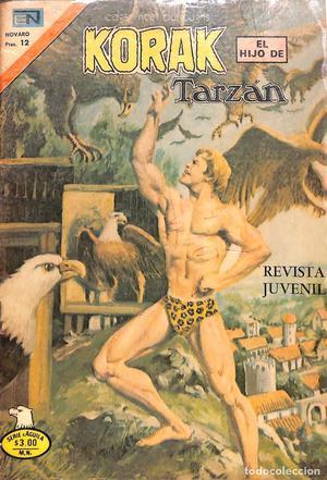 Comic KORAK EL HIJO DE TARZAN - NOVARO, Nº