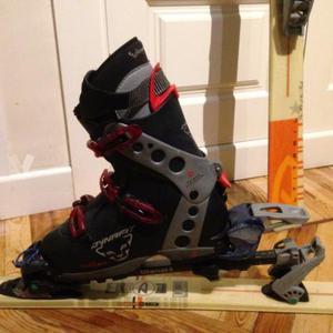 Esqui de travesía equipo completo