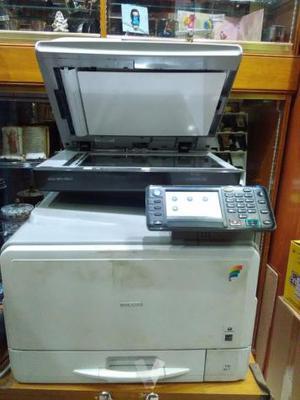 Fotocopiadora color b/n scaner fax Ricoh