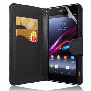 Funda para Sony Xperia Z1 Mini+ protector pantalla