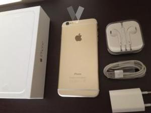 Iphone 6 plus libre de color dorado