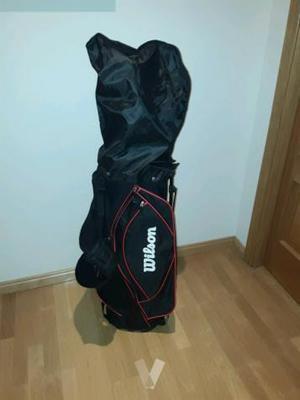 Medio juego palos de golf hombre con bolsa