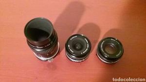 Nikon lote de 3 objetivos