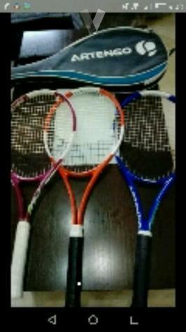 Raquetas de tenis marca Artengo
