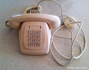 TELEFONO ANTIGUO CON TECLADO ORIGINAL DE TELEFONICA