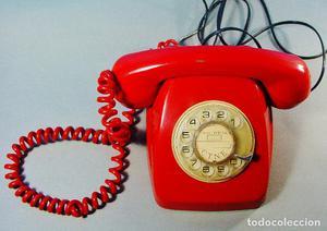 TELÉFONO MODELO HERALDO DE TELEFÓNICA. CITESA, MÁLAGA.