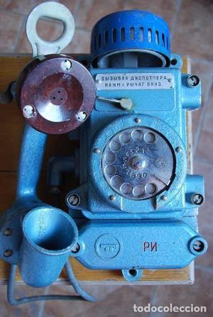 TELÉFONO SOVIÉTICO (RUSO) DE MINAS MODELO TASHA 2