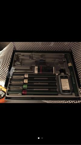 caja de rotring Faber Castell