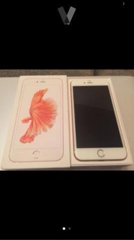 iphone 6s plus rosa gold 16GB libre