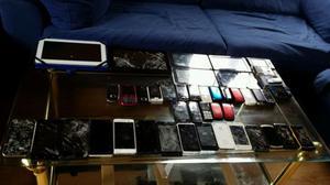 lote de tables y teléfonos