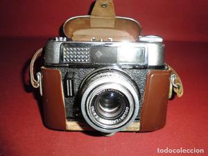 magnifica antigua camara de fotos,voigtlander vitoret