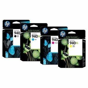 pack completo de tinta HP original 940XL