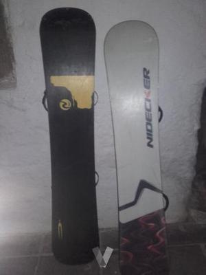 tablas de snowboard urge
