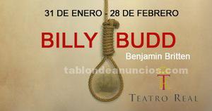 2 entradas premium para billy budd en el teatro real