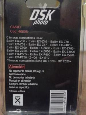 Batería ion-Li para cámara fotos