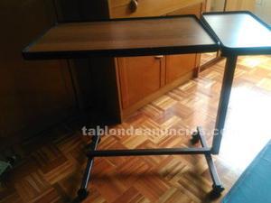 Cama eléctrica articulada + colchón + mesa camarera
