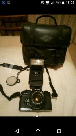 Camara Fuji STX  +Flash+funda