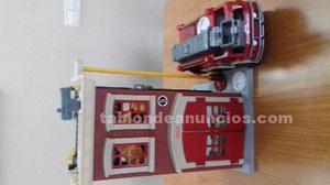 Camion y parque de bomberos fisher price