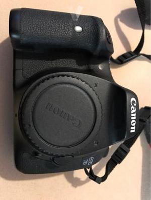 Canon 7D con accesorios