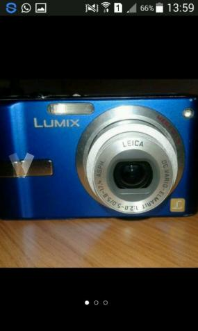 Cámara de fotos. Panasonic Lumix Azul
