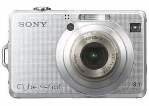 Cámara de fotos Sony DSC-W100