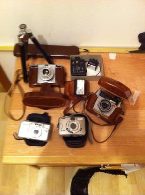 Colección cámara de foto antiguas