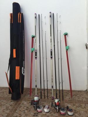 Equipo pesca Surfcasting