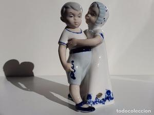 Figura de Porcelana Tengra.