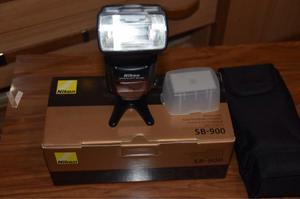 Flash Nikon Sb900