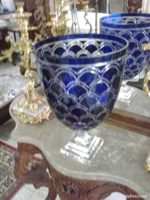 Gran Copa en cristal tallado