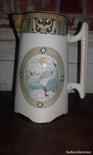 Jarra de porcelana /principios del siglo XX