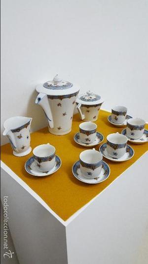 Juego de café de Limoges.