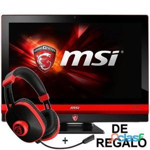 "MSI Gaming i5-6300 16GB 1TB+128SSD GTX960M W10 24"""""