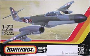 Maqueta Matchbox 1/72 Meteor NF. #PK-129